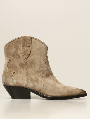 Isabel Marant Dewina Ankle Boot In Suede