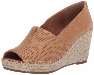 Gentle Souls by Kenneth Cole Women's Espadrille Wedged Sandal with Ankle Strap