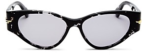 Bottega Veneta Women's Cat Eye Sunglasses, 55mm