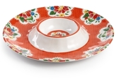 Certified International Frida Melamine Chip & Dip Server