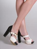 Arden B Color Block Heel