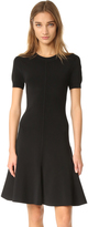 Alexander Wang Short Sleeve Flare Dress