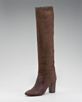 Lanvin Shearling-Lined Knee Boot