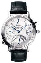 Maurice Lacroix Masterpiece Double Retrograde Stainless Steel Mens Watch