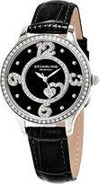 Stuhrling Original Women's 760.02 Symphony Analog Display Quartz Black Watch