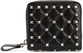 Valentino Garavani Valentino Rockstud Spike wallet - women - Leather/metal - One Size