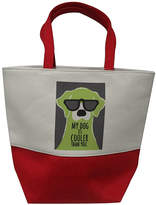 Beaux Maison Decor Totebags Multi - Red & Gray 'My Dog is Cooler Than You' Pet Accessory Tote
