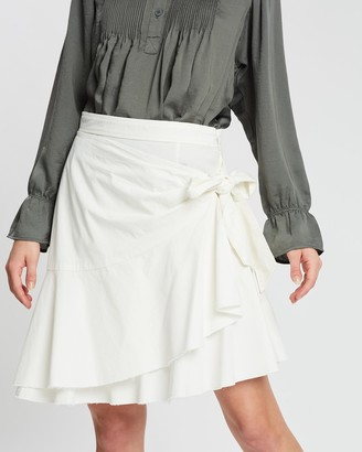 POL Clothing Corfu Wrap Skirt