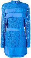 No.21 long-sleeve lace dress