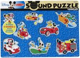 Melissa & Doug Mickey Mouse & Friends Vehicles Wooden Sound Puzzle Puzzle