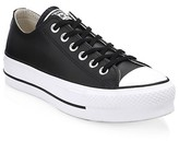 Thumbnail for your product : Converse Chuck Taylor All Star Leather Platform Low-Top Sneakers