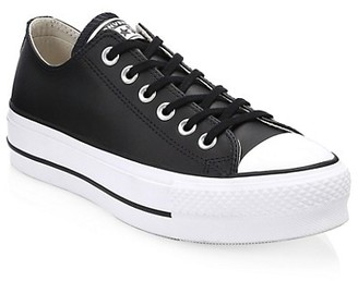 Converse Chuck Taylor All Star Lift Leather Low-Top Sneakers