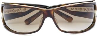 Yves Saint Laurent Pre Owned Tortoiseshell Sunglasses