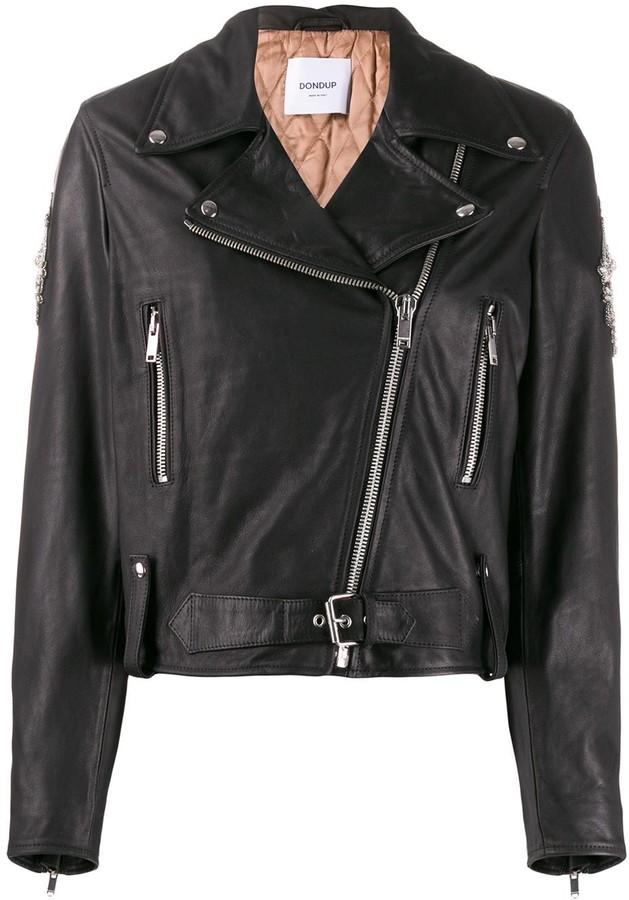 Dondup slim-fit biker jacket