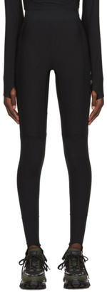 Ambush Black Mini Logo Scuba Leggings