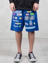 Moschino Multi Logo Racer Shorts