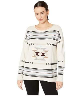 Pendleton Medallion Hi-Lo Sweater