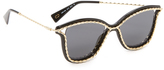 Marc Jacobs Rope Outline Sunglasses