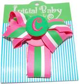 Mud Pie Initial Baby Initial Baby Personalized Pacifier Clip, Letter C