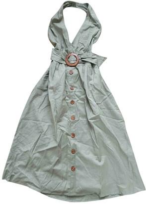 ASOS Khaki Cotton Dress for Women