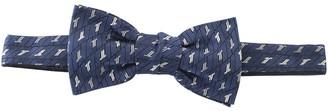 Lanvin Stitch-Detail Bow Tie