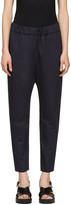 Marni Navy Twill Trousers