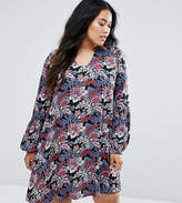 Junarose Floral Print Shift Dress
