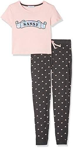 New Look 915 Girl's 5480474 Pyjama Sets, (Light Pink), (Size: 52)