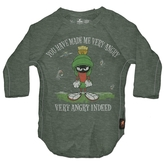 Mini Trunk Boy's Marvin The Martian - 'Very Angry Indeed' Raglan