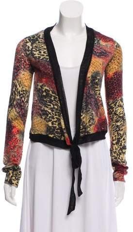Fuzzi Wool Tie Front Cardigan w/ Tags
