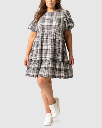Forever New Curve - Women's Mini Dresses - Katherine Curve Smock Dress - Size One Size, 18 at The Iconic