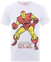 Marvel Boy's Classics Iron Man Pose Short Sleeve T-Shirt