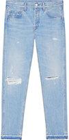 Gucci Light blue denim punk pant - men - Cotton - 31