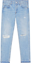 Gucci Light blue denim punk pant