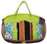 The House of Perna Leather Kilim Bag