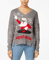 Ultra Flirt by Ikeddi Juniors' Ugly Holiday Sweater