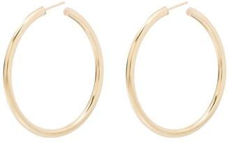 Loren Stewart Natasha 10kt gold hoop earrings