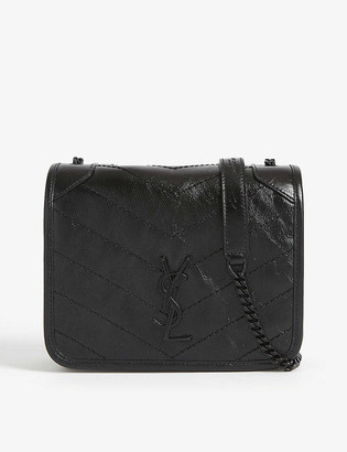 Saint Laurent Niki monogram leather wallet-on-chain
