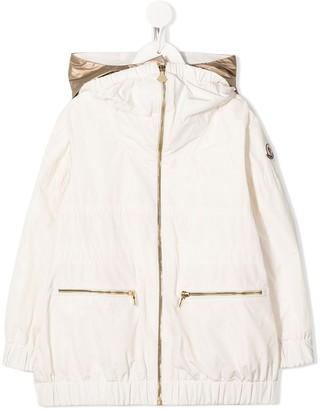 Moncler Enfant Contrast Hood Jacket