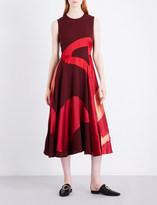 Roksanda Keanu silk-blend midi dress
