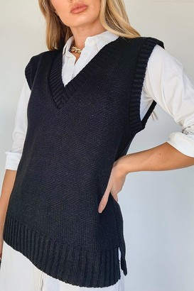 boohoo Knitted vest Top