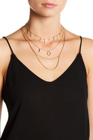 Vince Camuto Multi-Row Chain Choker Necklace