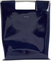 DELPOZO Blue Leather Handbags