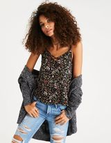 American Eagle Outfitters AE Strappy Printed Cami