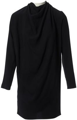 Bouchra Jarrar Black Viscose Dresses