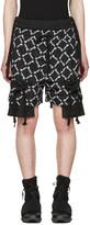 Kokon To Zai Black Gathered Pockets Shorts