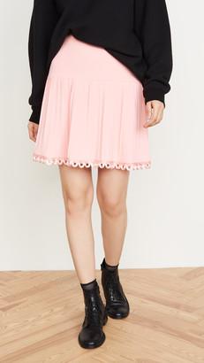 Moschino Pleated Miniskirt