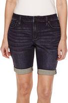 A.N.A a.n.a Woven Bermuda Shorts Petites