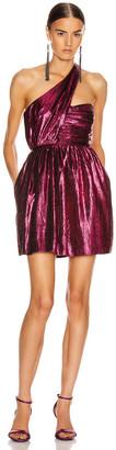 Saint Laurent Disco Mini Dress in Fuchsia | FWRD