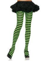 Leg Avenue Sexy Hot Provocative Nylon Stripe Tights (, Size)